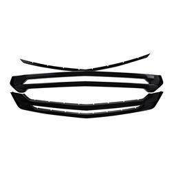Chevrolet - Traverse - CCI - 2018-2020 CHEVROLET TRAVERSE GLOSS BLACK GRILLE OVERLAY COVER