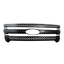 Ford - Explorer - CCI - 2011-2015 FORD ESCAPE GLOSS BLACK GRILLE OVERLAY COVER