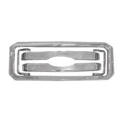 Ford - SuperDuty F250 - CCI - 2011-2016 FORD SUPERDUTY CHROME GRILLE OVERLAY COVER