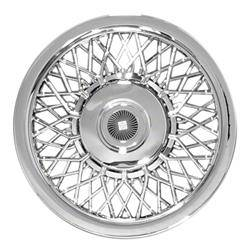 "Universal - 15 - CCI - 15"" CHROME STEEL HUBCAP UNIVERSAL WHEEL COVERS"