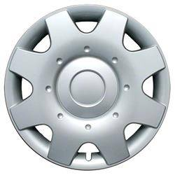 """Universal - 16 - CCI - UNIVERSAL SILVER 16"""" HUBCAP WHEEL COVERS"""