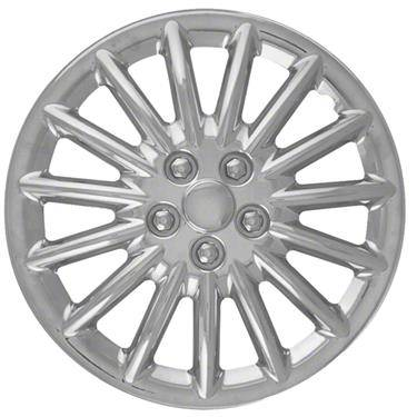 "Universal - 15 - CCI - UNIVERSAL CHROME 15"" HUBCAP WHEEL COVERS"