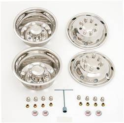 "Ford - E450 - CCI - 1992-2007 Ford E450 16"" Stainless Steel Wheel Simulator Set"