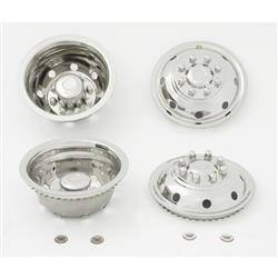 "CCI - 1992-2003 Ford E350 16"" Stainless Steel Wheel Simulator Set"
