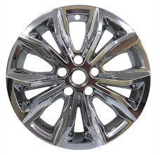 "Chevrolet - Malibu - CCI - 2019-2020 Chevrolet Malibu 17"" CHROME WHEEL SKINS SET OF FOUR IMP440CC"