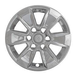 "Chevrolet - Silverado 1500 - CCI - 2019-2020 CHEVROLET SILVERADO / GMC SIERRA 17"" CHROME WHEEL SKINS SET OF FOUR IMP436X"