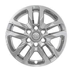 """Chevrolet - Silverado 1500 - CCI - 2019-2020 Chevrolet Silverado 18"""" CHROME WHEEL SKINS SET OF FOUR IMP432X"""