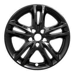 """Ford - Fusion - CCI - 2015-2019 Ford Fusion CCI 17"""" Gloss Black Wheel Skins SET OF FOUR IMP447BLK"""