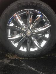 """2019-2020 Chevrolet Cruze 16"""" CHROME WHEEL SKINS SET OF FOUR IMP442CC"""