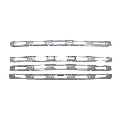 Chevrolet - Silverado 2500 - CCI - 2020-2021 Chevrolet Silverado 2500 Chrome Grill Overlay