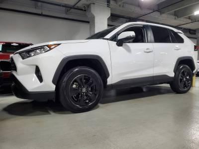 """Toyota - RAV4 - CCI - 2019-2020 TOYOTA RAV4 17"""" GLOSS BLACK WHEEL SKINS SET OF FOUR IMP434BLK"""