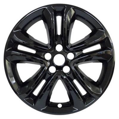"Ford - Edge - CCI - 2019-2020 Ford Edge 18"" Gloss Black Wheel Skins Set of Four"