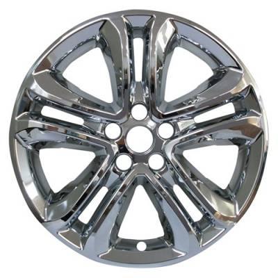 "Ford - Edge - CCI - 2019-2020 Ford Edge 18"" Chrome Wheel Skins Set of Four 8819P-C"