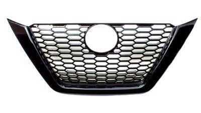 2019-2021 Nissan Altima Gloss Black Grill Overlay IWCGI497BLK One Piece