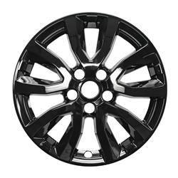 Nissan - Rogue - CCI - SINGLE PIECE FOR 2017-2020 Nissan Rogue Set of Four Gloss Black Wheel Skins IMP433BLK