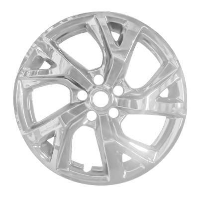 """Chevrolet - Equinox - CCI - 2018-2021 Chevrolet Equinox IMP452BLK Set Of Four 18"""" Chrome Wheel Skins"""