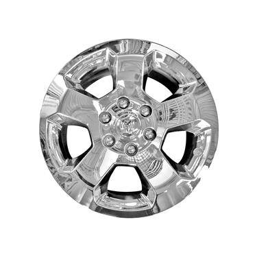 IMP451X 18 Inch; 5 Spoke; Plated; Chrome; ABS Plastic; Fits Over And Into OEM Wheel